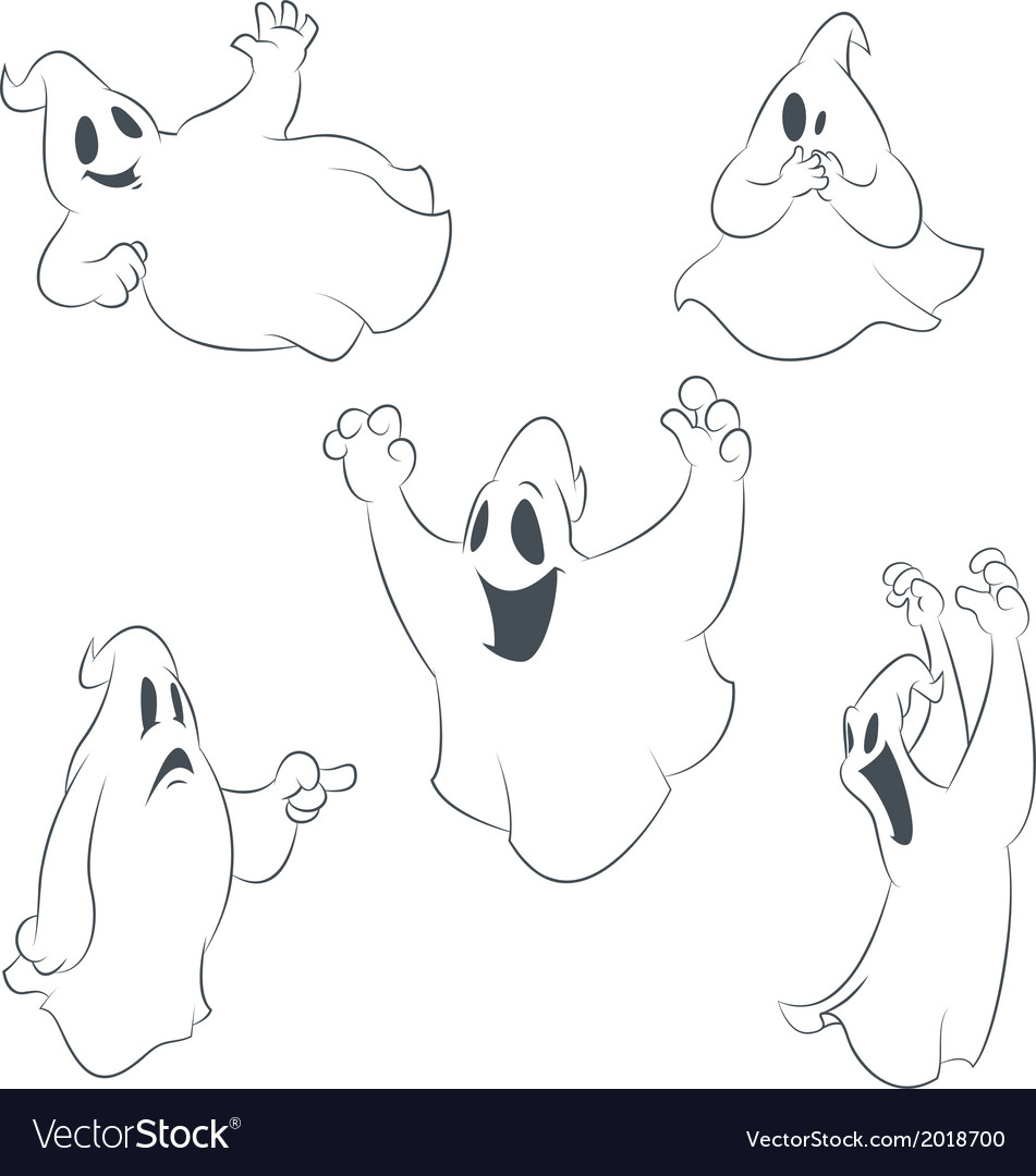Ghostes vector | Price: 1 Credit (USD $1)