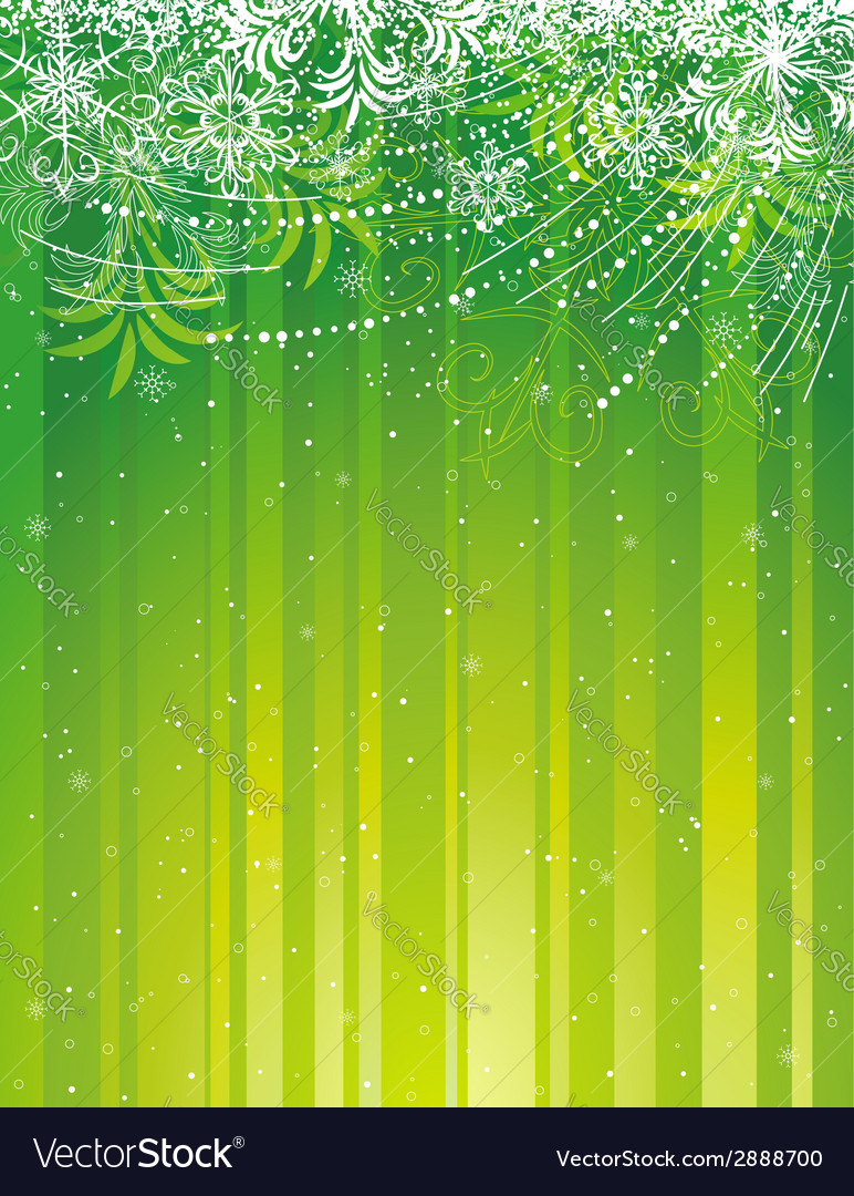 Green grunge christmas background vector | Price: 1 Credit (USD $1)