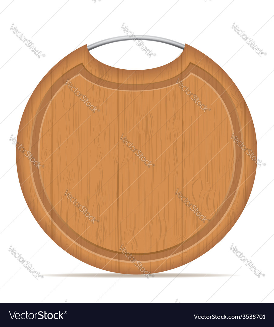 Cutting board 08 vector | Price: 1 Credit (USD $1)