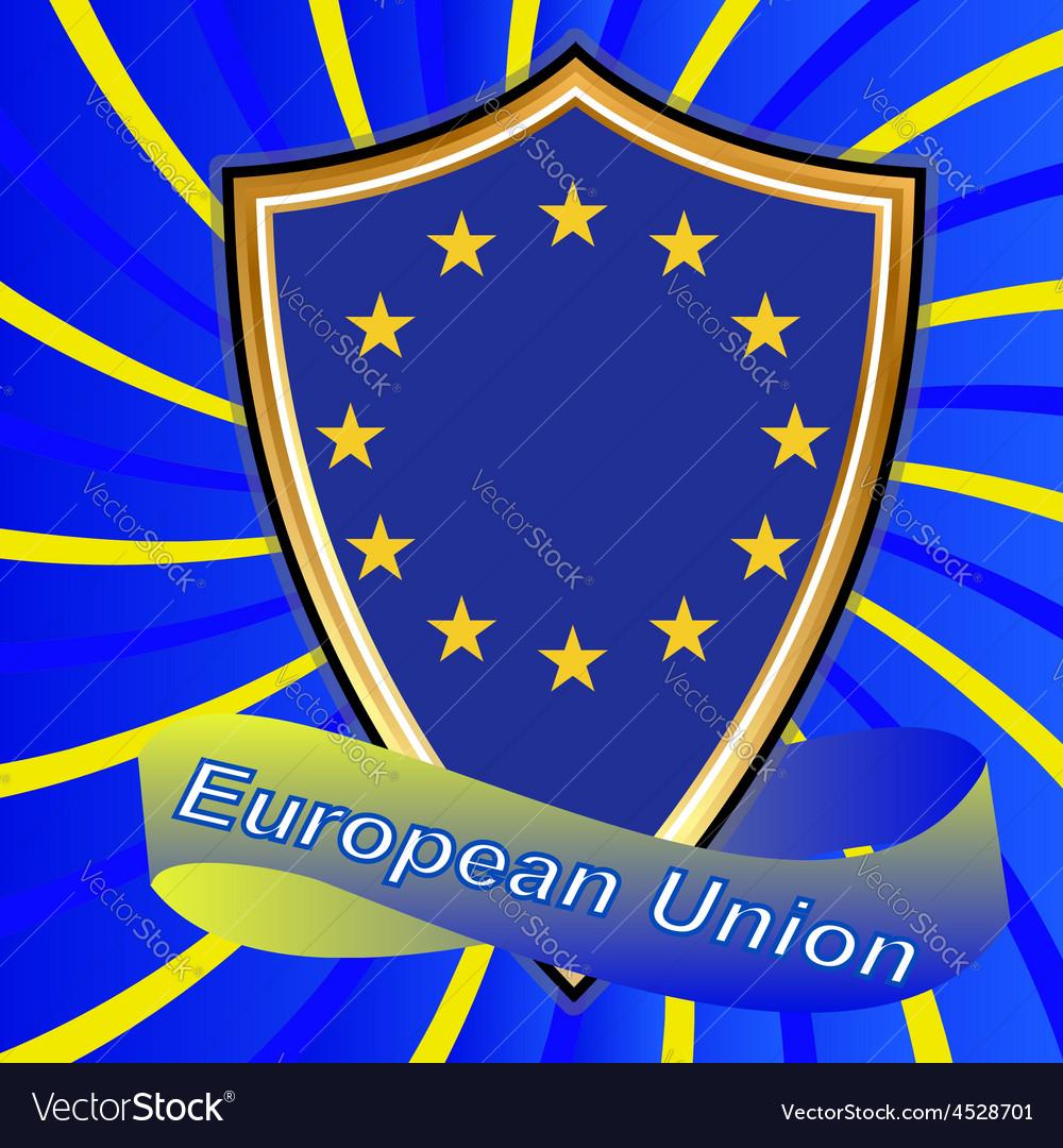 Europe corporation logo symbol tourism ukraine ban vector | Price: 1 Credit (USD $1)