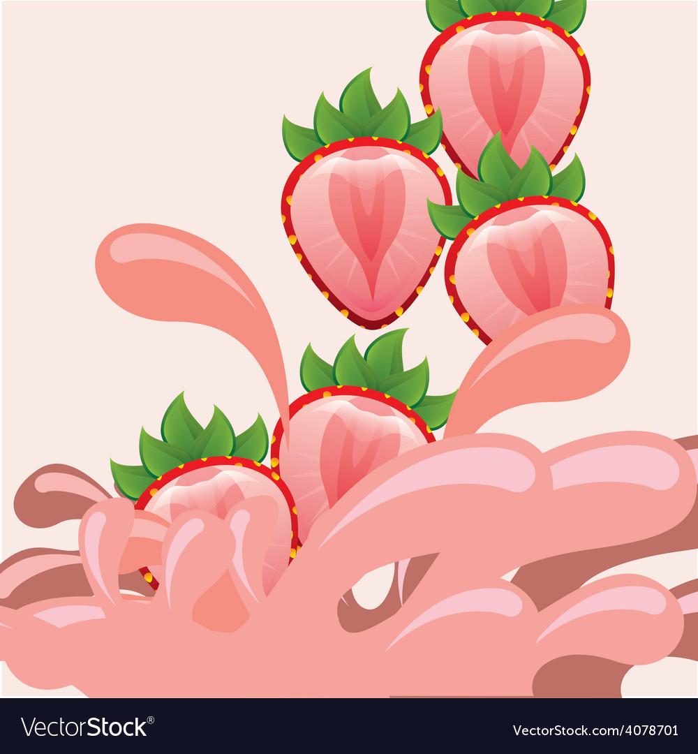 Healthy fruits vector | Price: 1 Credit (USD $1)