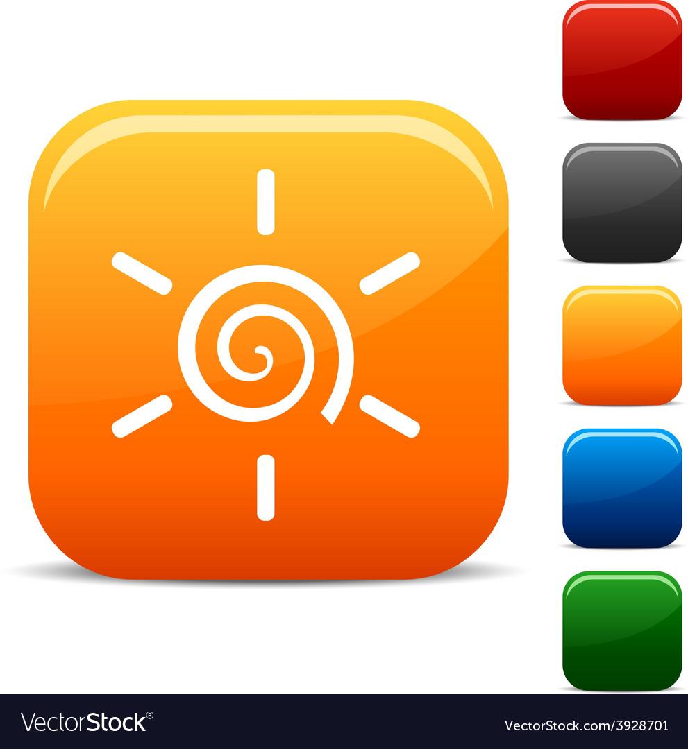 Sun icons vector | Price: 1 Credit (USD $1)