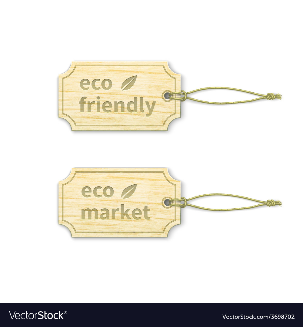 Eco tags set 14 vector | Price: 1 Credit (USD $1)