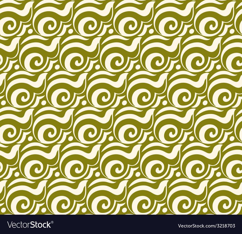 Geometric seamless pattern background retro style vector | Price: 1 Credit (USD $1)