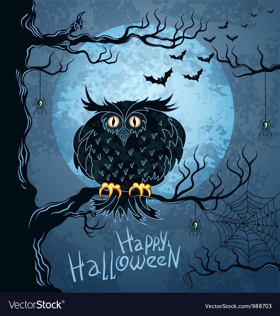 Grungy halloween background vector | Price: 3 Credit (USD $3)