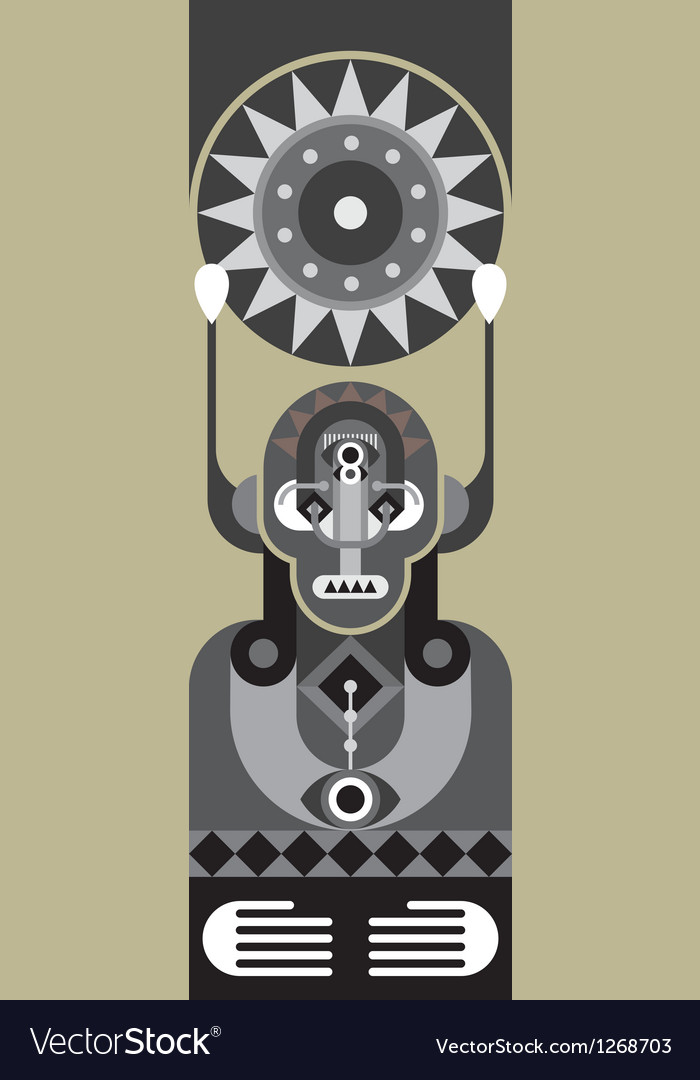 Totem vector | Price: 1 Credit (USD $1)