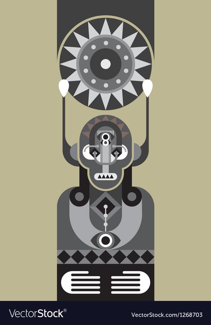 Totem vector | Price: 1 Credit (USD $1)