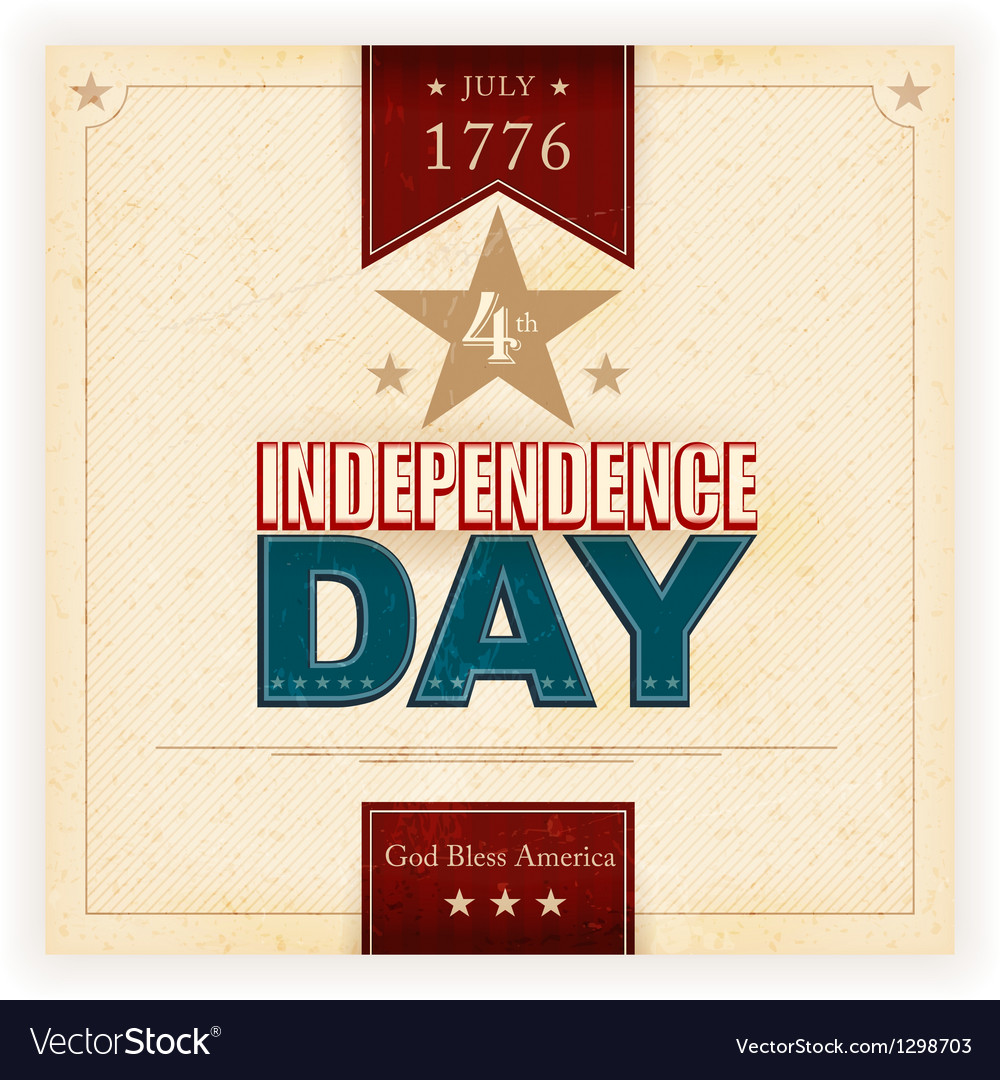 Usa indenpendence day background vector | Price: 1 Credit (USD $1)