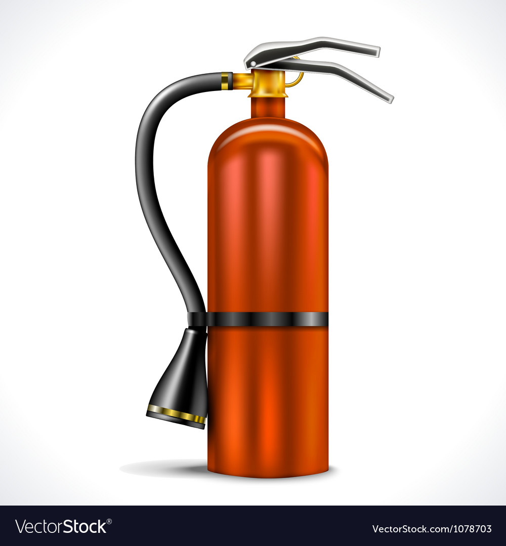 Vintage fire extinguisher vector | Price: 1 Credit (USD $1)