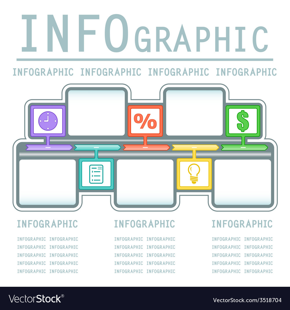 Commercial infografic background vector | Price: 1 Credit (USD $1)