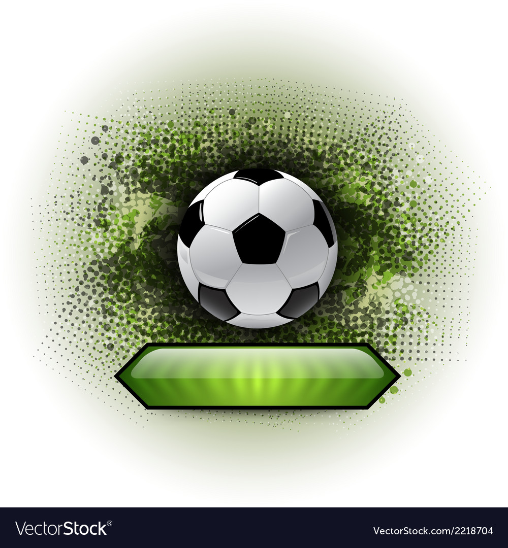 Soccer abstract vector | Price: 1 Credit (USD $1)