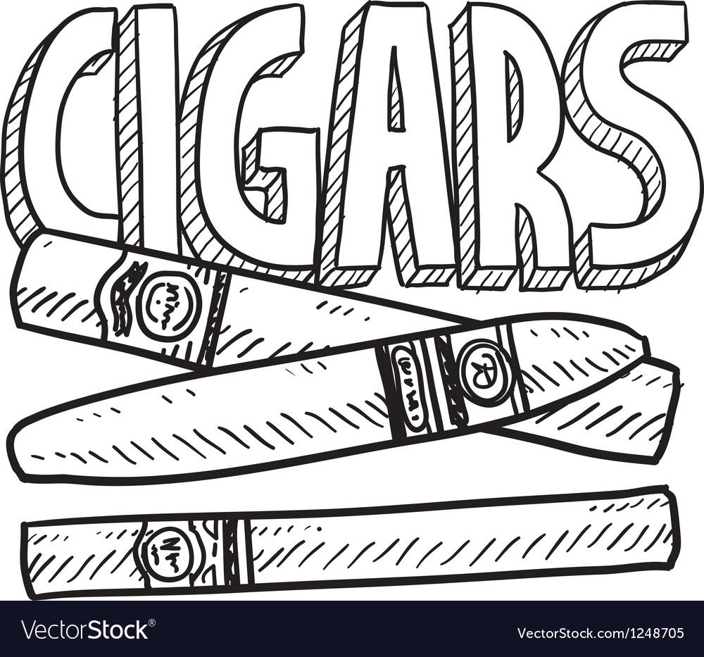 Cigars vector | Price: 1 Credit (USD $1)