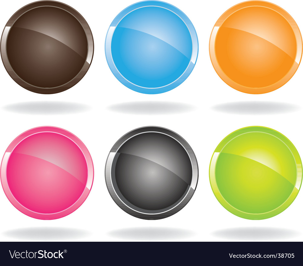 Colored buttons vector | Price: 1 Credit (USD $1)