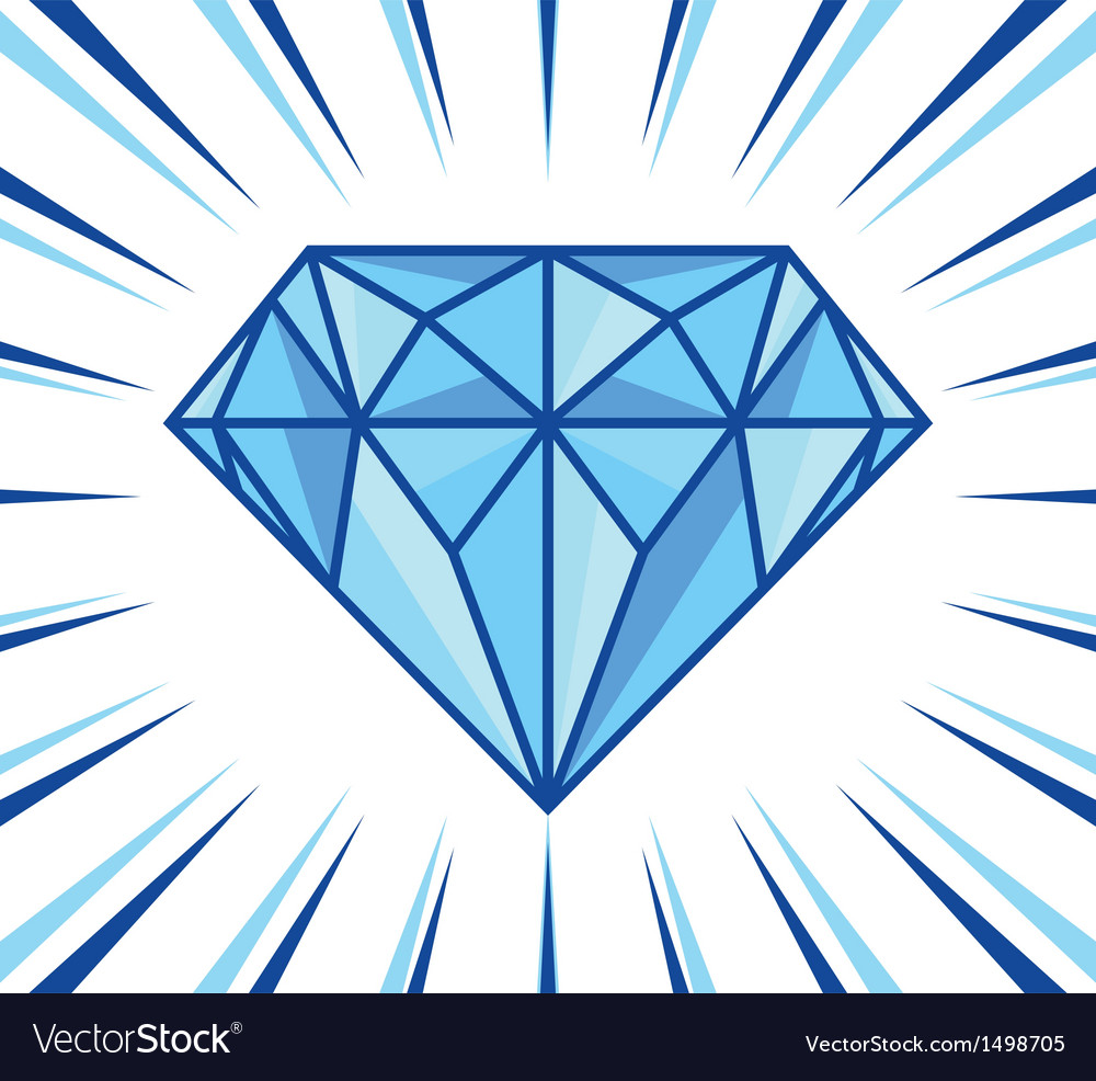 Diamond shine vector | Price: 1 Credit (USD $1)