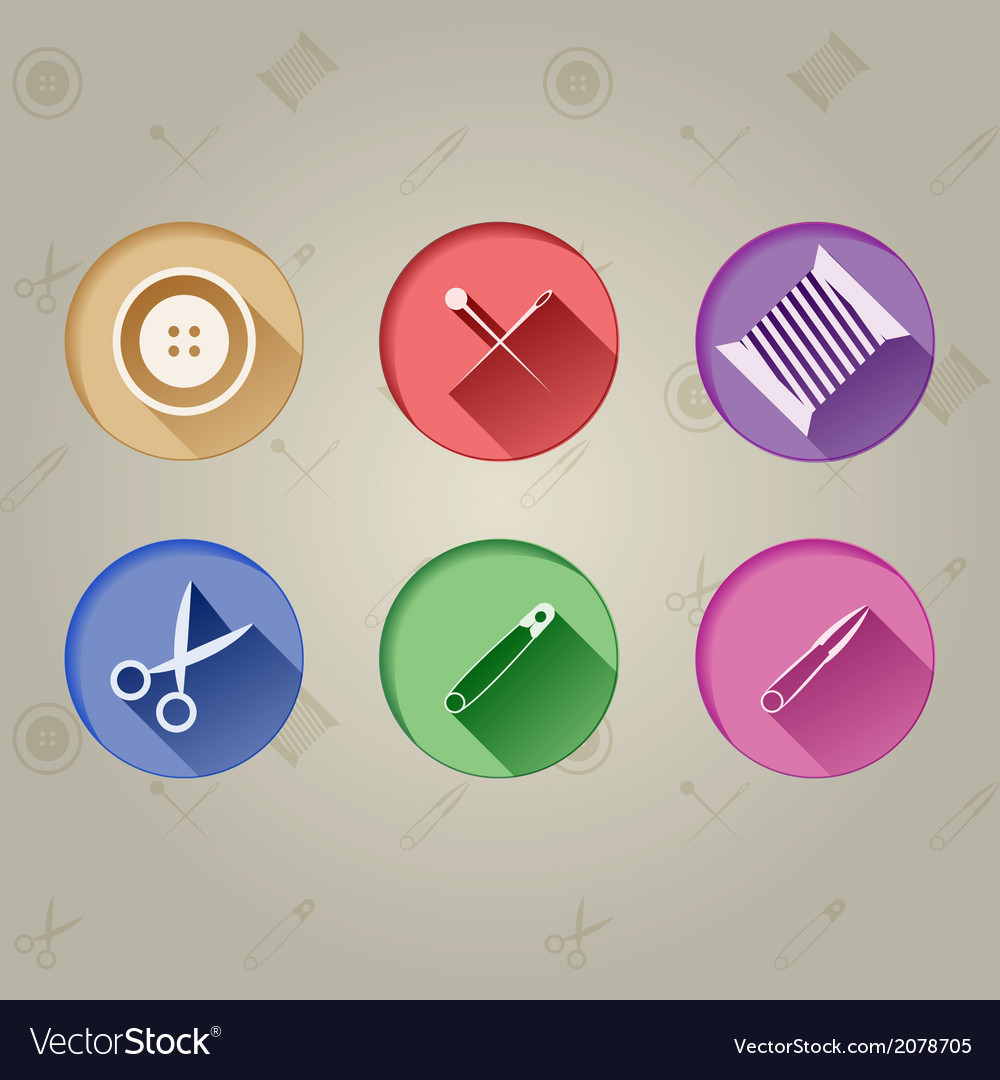 Flat icons for handmader vector | Price: 1 Credit (USD $1)