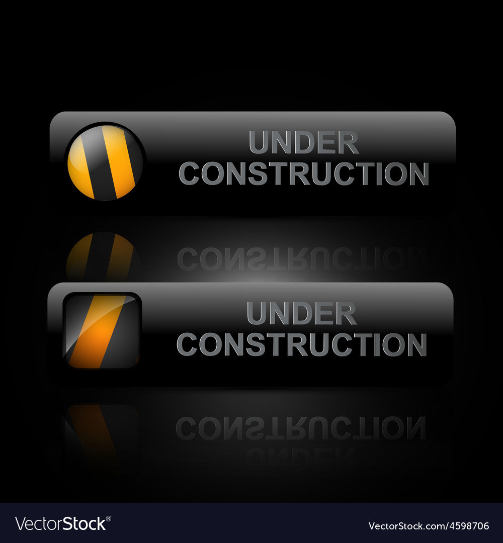 Dark under construction design art vector | Price: 1 Credit (USD $1)