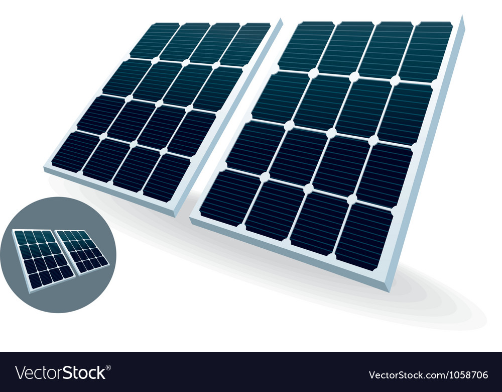 Solar battery vector   Price: 1 Credit (USD $1)