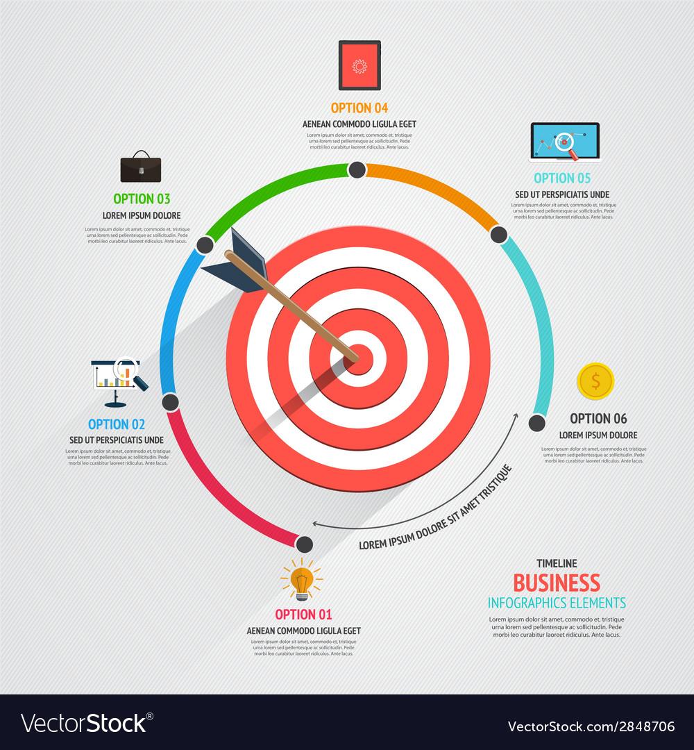 Timeline infographics design vector | Price: 1 Credit (USD $1)