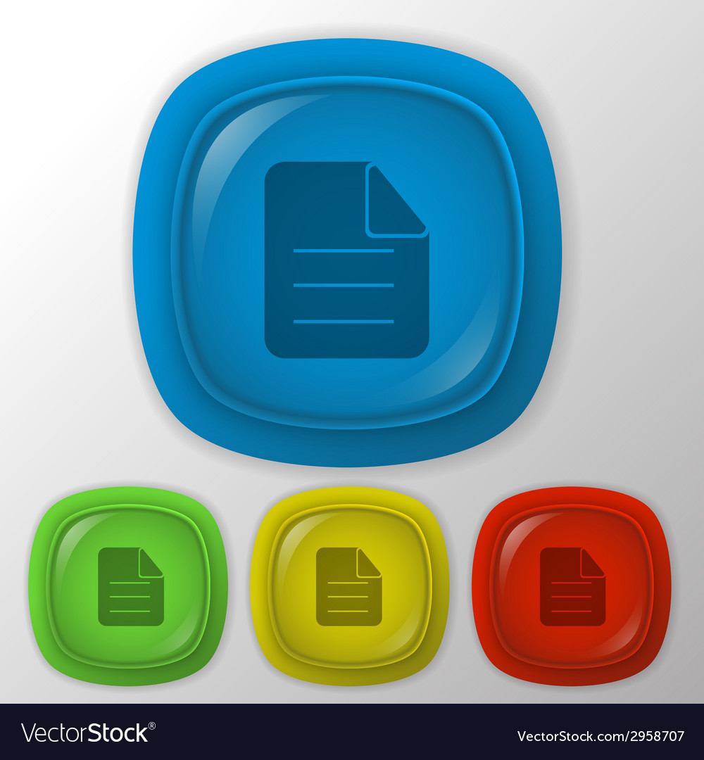 Page of the document vector | Price: 1 Credit (USD $1)