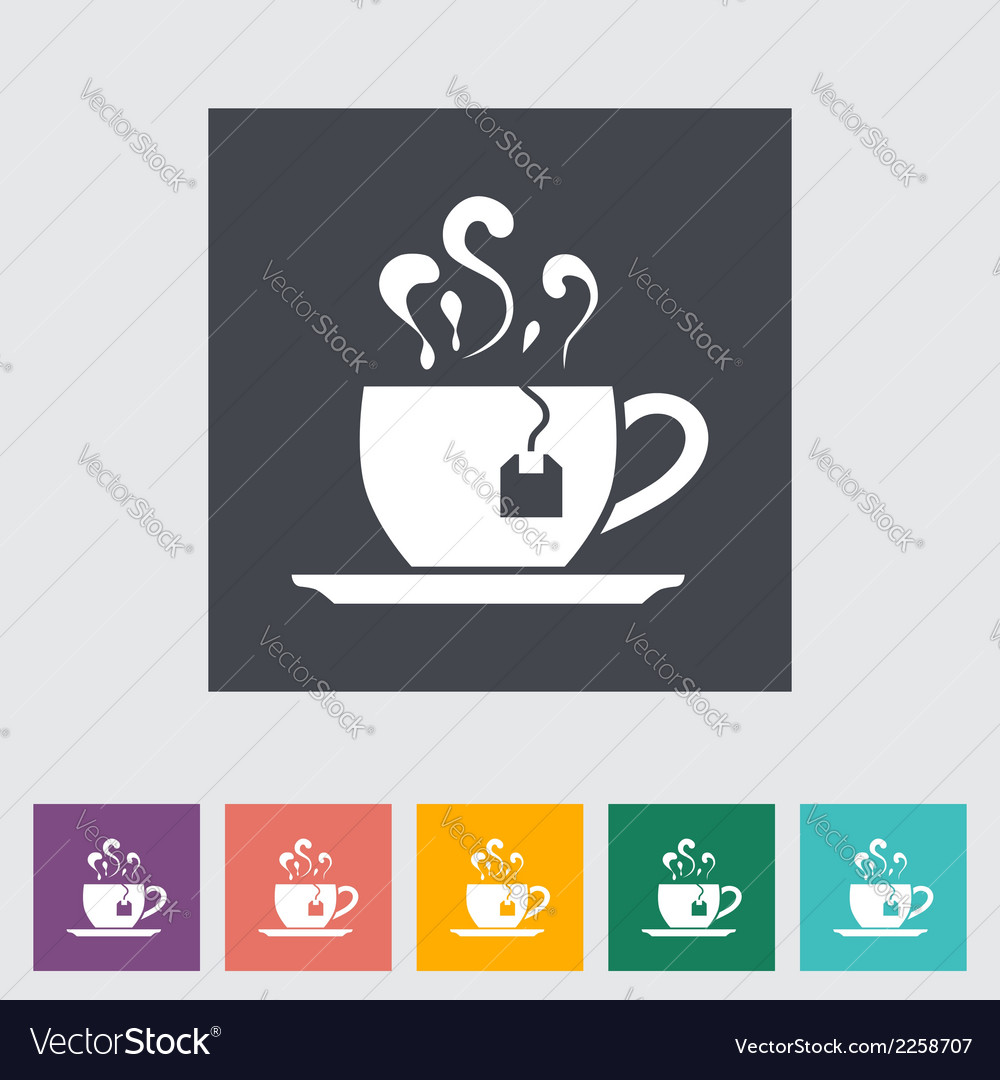 Tea icon vector | Price: 1 Credit (USD $1)