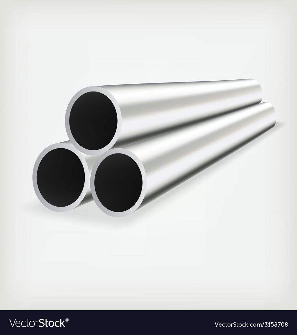 Metal tube vector | Price: 1 Credit (USD $1)