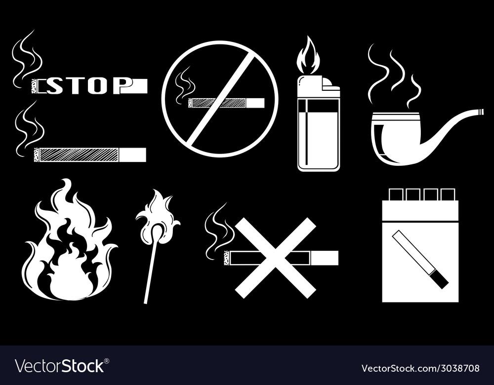 Nonsmoking vector
