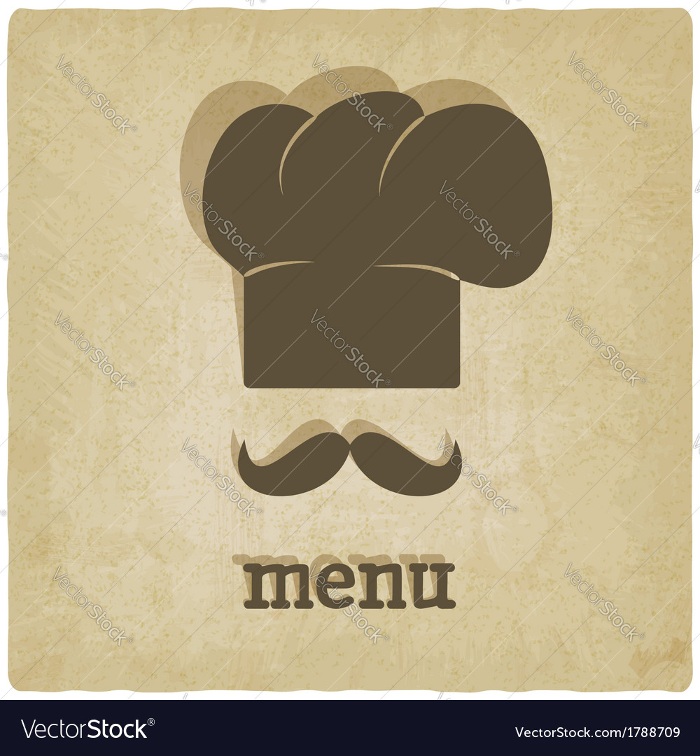 Menu old background vector | Price: 1 Credit (USD $1)