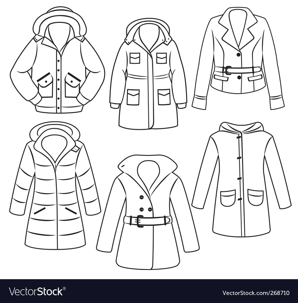 Clothes set vector | Price: 1 Credit (USD $1)