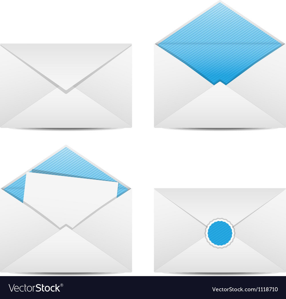 Envelopes and letter vector | Price: 1 Credit (USD $1)