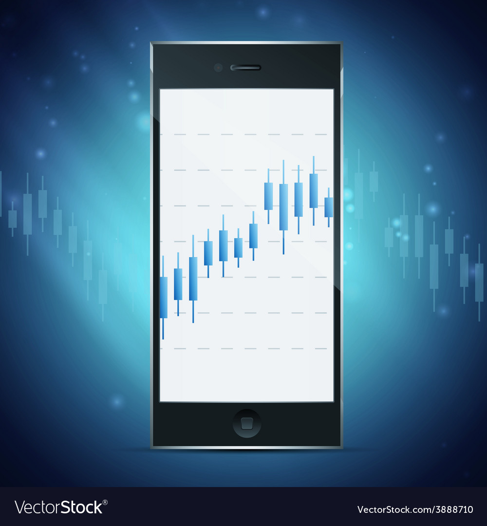 Exchange on phone concept vector   Price: 1 Credit (USD $1)