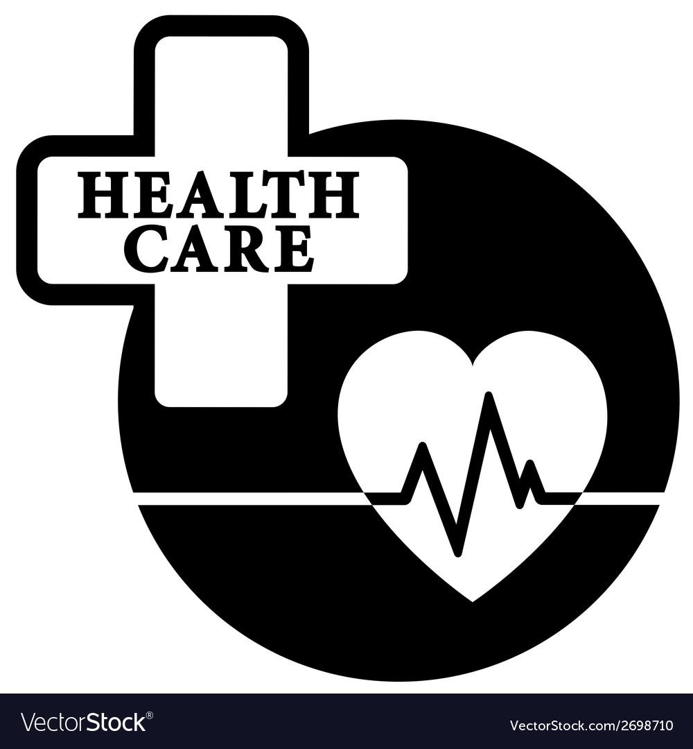 Health care medical icon vector | Price: 1 Credit (USD $1)