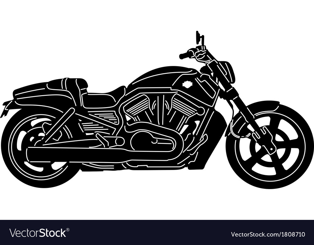 Motorcycle package - detailed vector | Price: 1 Credit (USD $1)