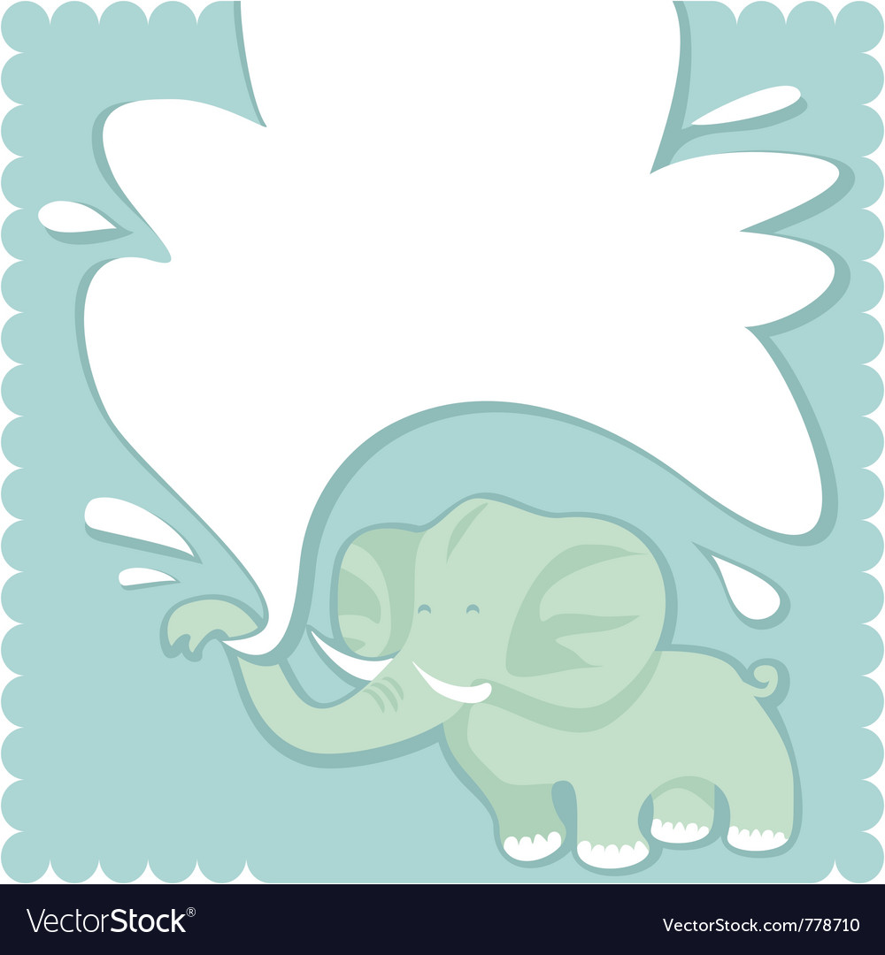 Newborn congratulation greeting card vector | Price: 1 Credit (USD $1)