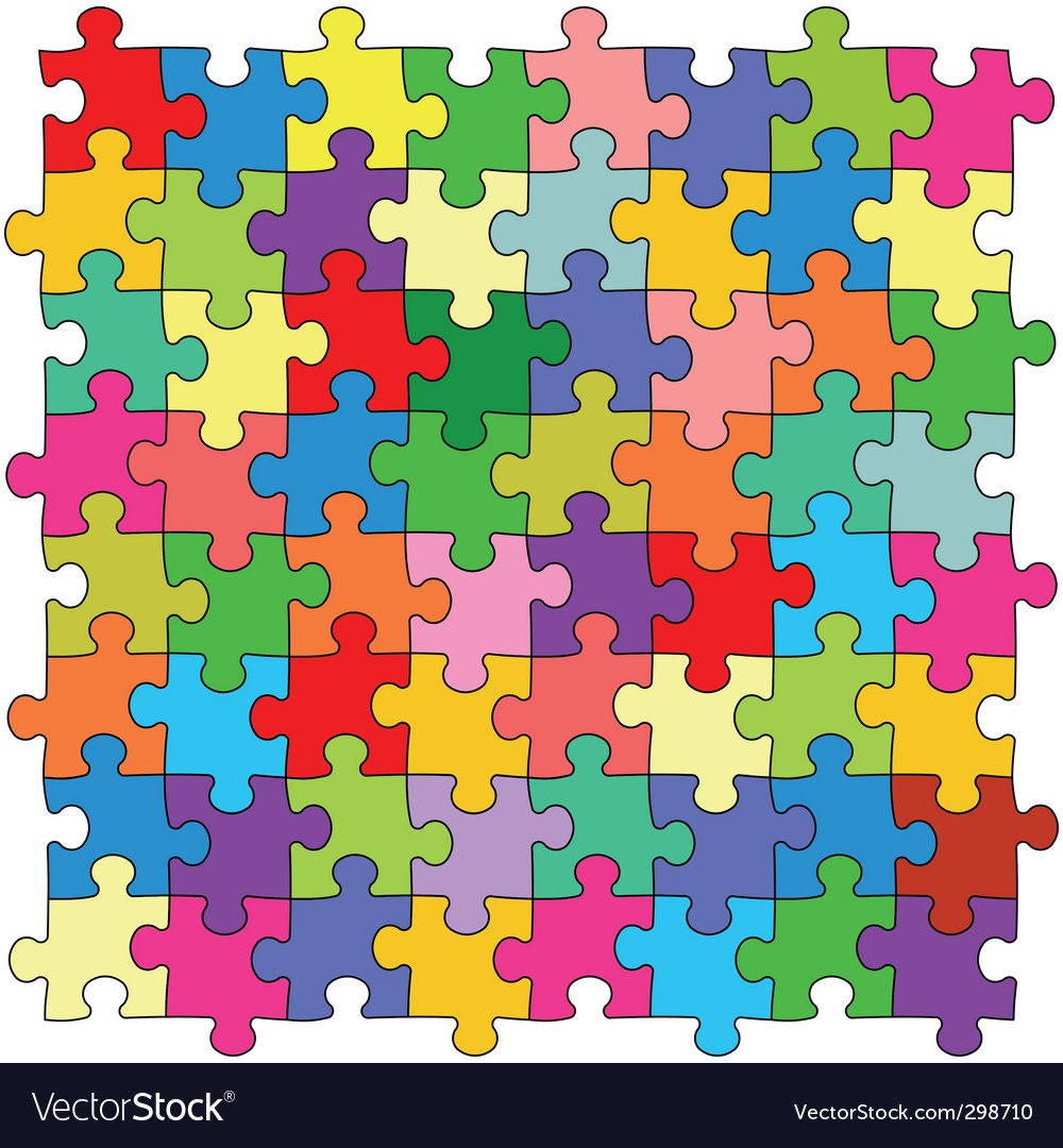Puzzles vector | Price: 1 Credit (USD $1)