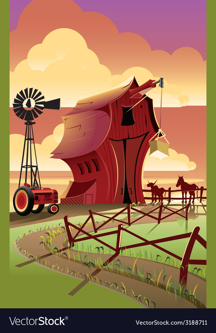 Farm2 vector | Price: 1 Credit (USD $1)