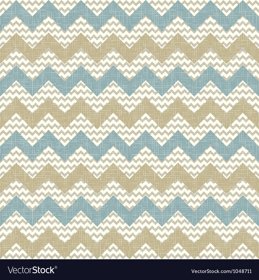 Seamless chevron pattern on linen texture vector | Price: 1 Credit (USD $1)