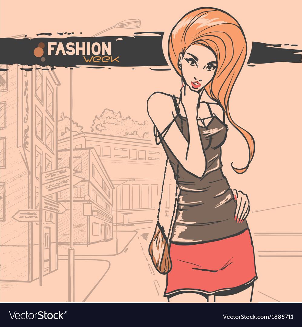 Urban fashion vector   Price: 1 Credit (USD $1)