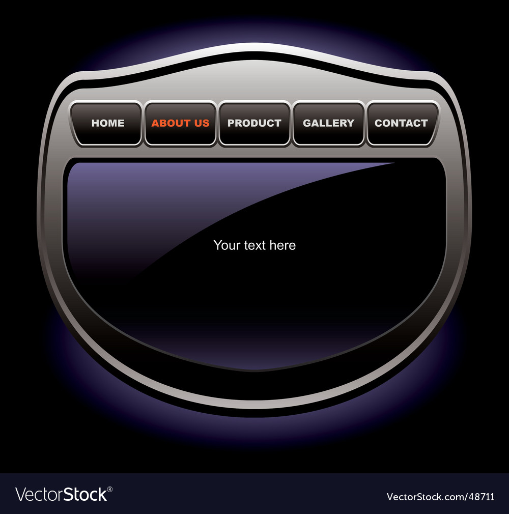 Website gadget vector | Price: 1 Credit (USD $1)