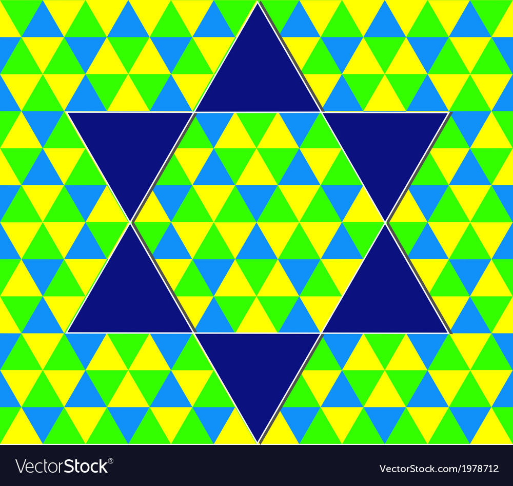 Color geometric pattern vector | Price: 1 Credit (USD $1)