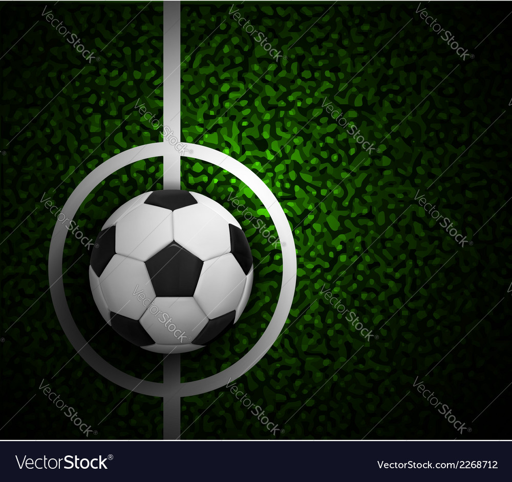 Field soccer vector | Price: 1 Credit (USD $1)