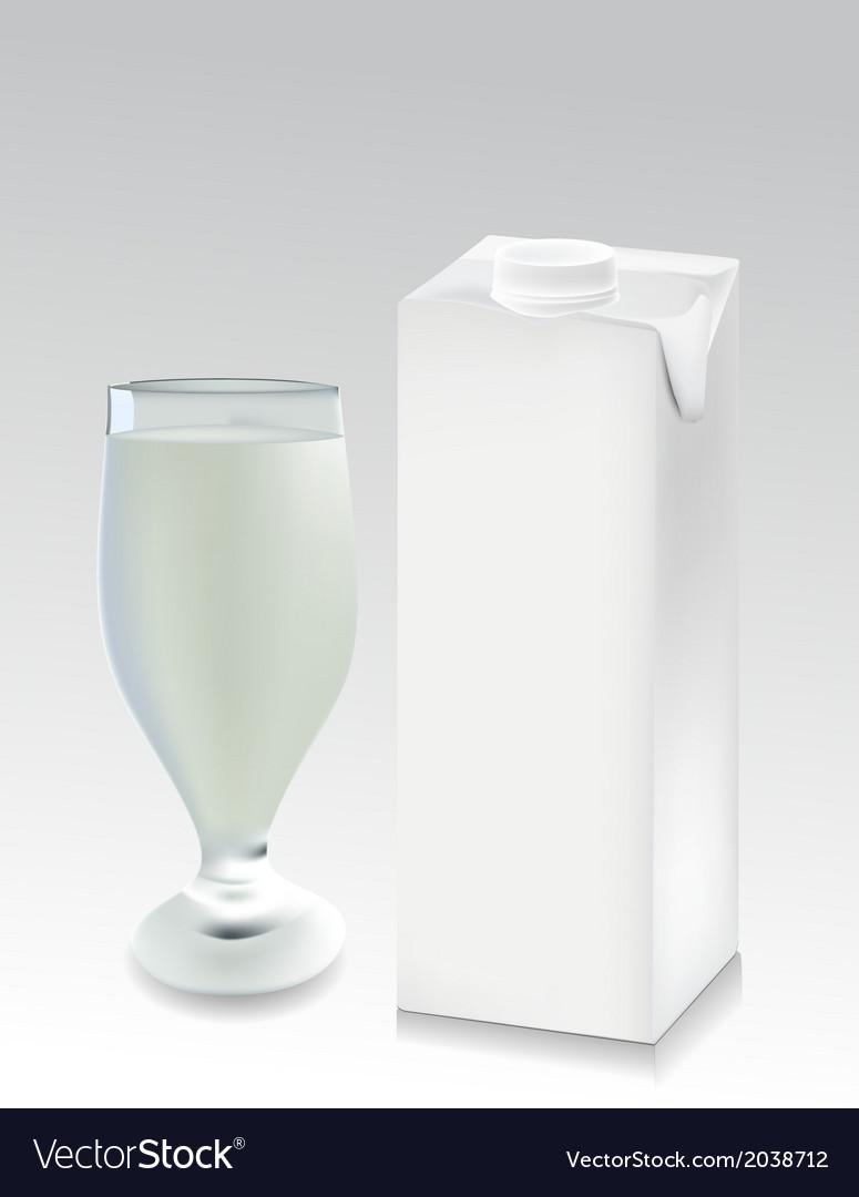 Milk carton vector | Price: 1 Credit (USD $1)