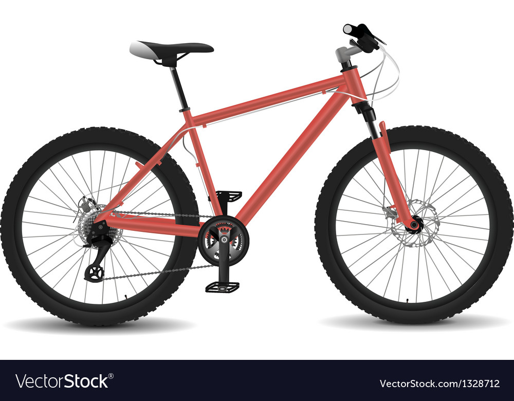Montain bike vector | Price: 1 Credit (USD $1)