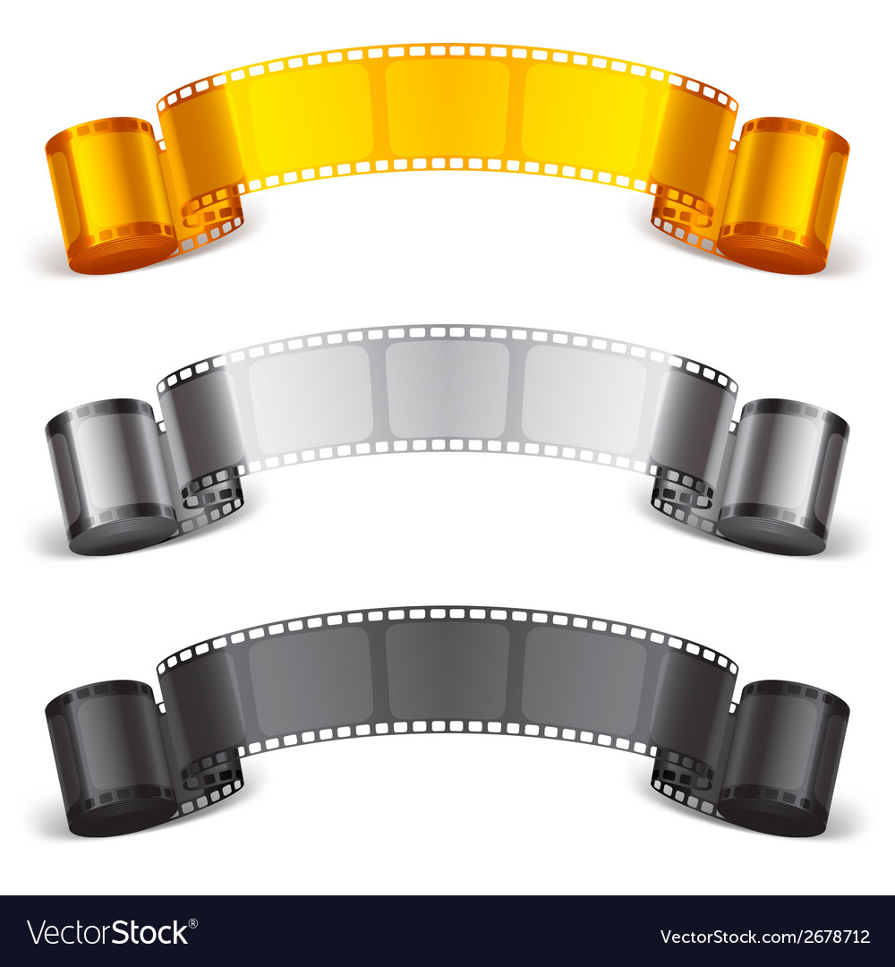 Movie tape vector | Price: 1 Credit (USD $1)