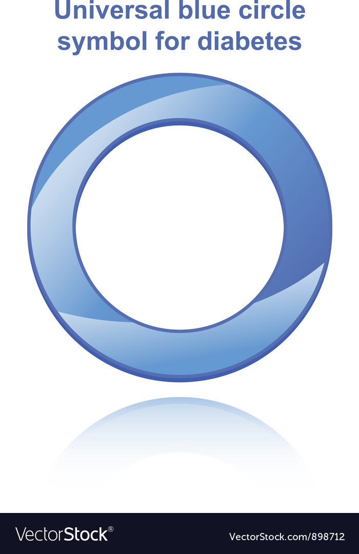Universal blue circle vector | Price: 1 Credit (USD $1)