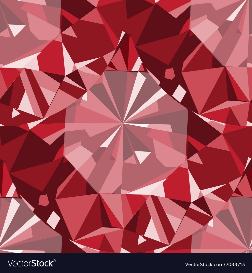 Ruby seamless pattern background vector | Price: 1 Credit (USD $1)