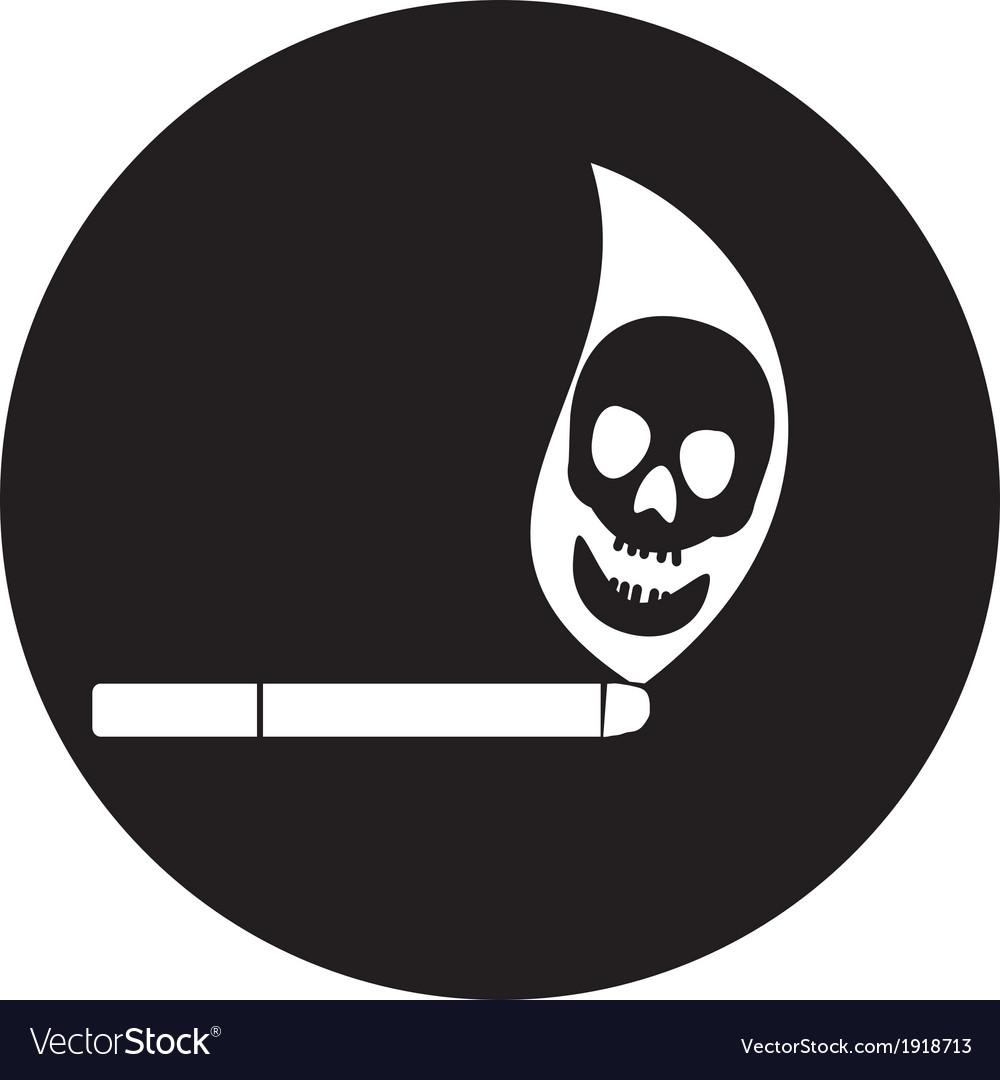 Smoking symbol vector   Price: 1 Credit (USD $1)