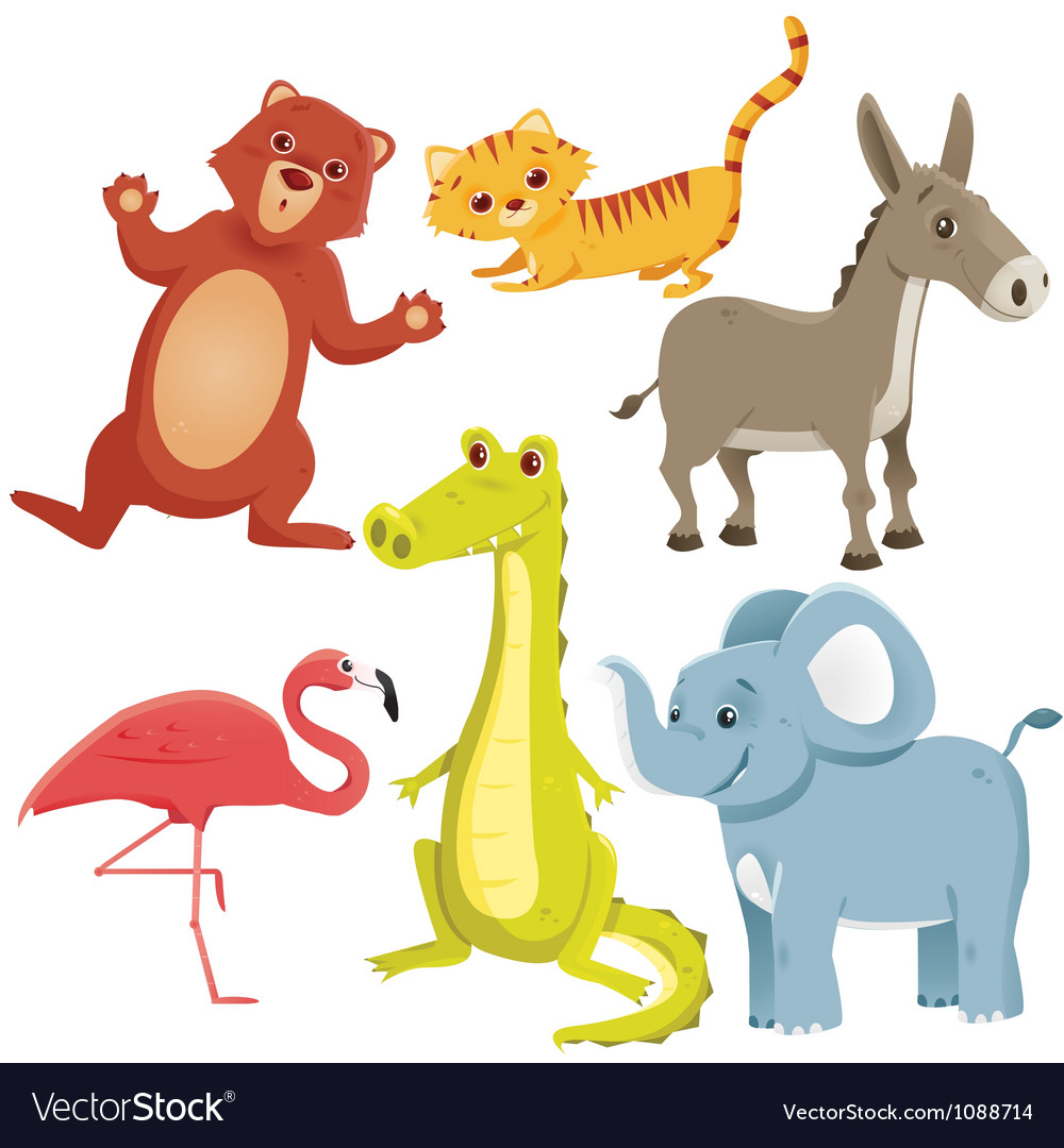 Collection of animals vector | Price: 3 Credit (USD $3)