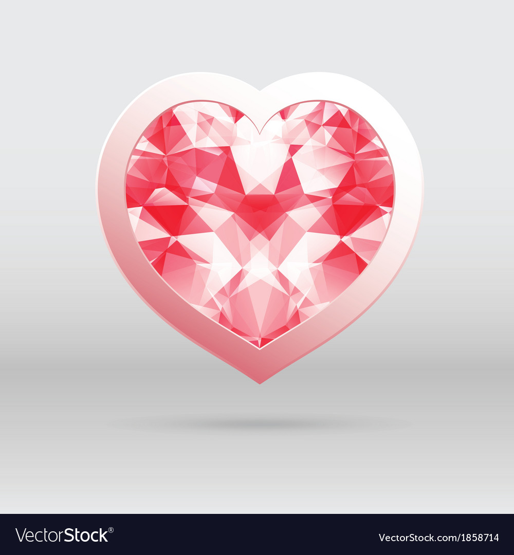 Heart for valentines day vector | Price: 1 Credit (USD $1)