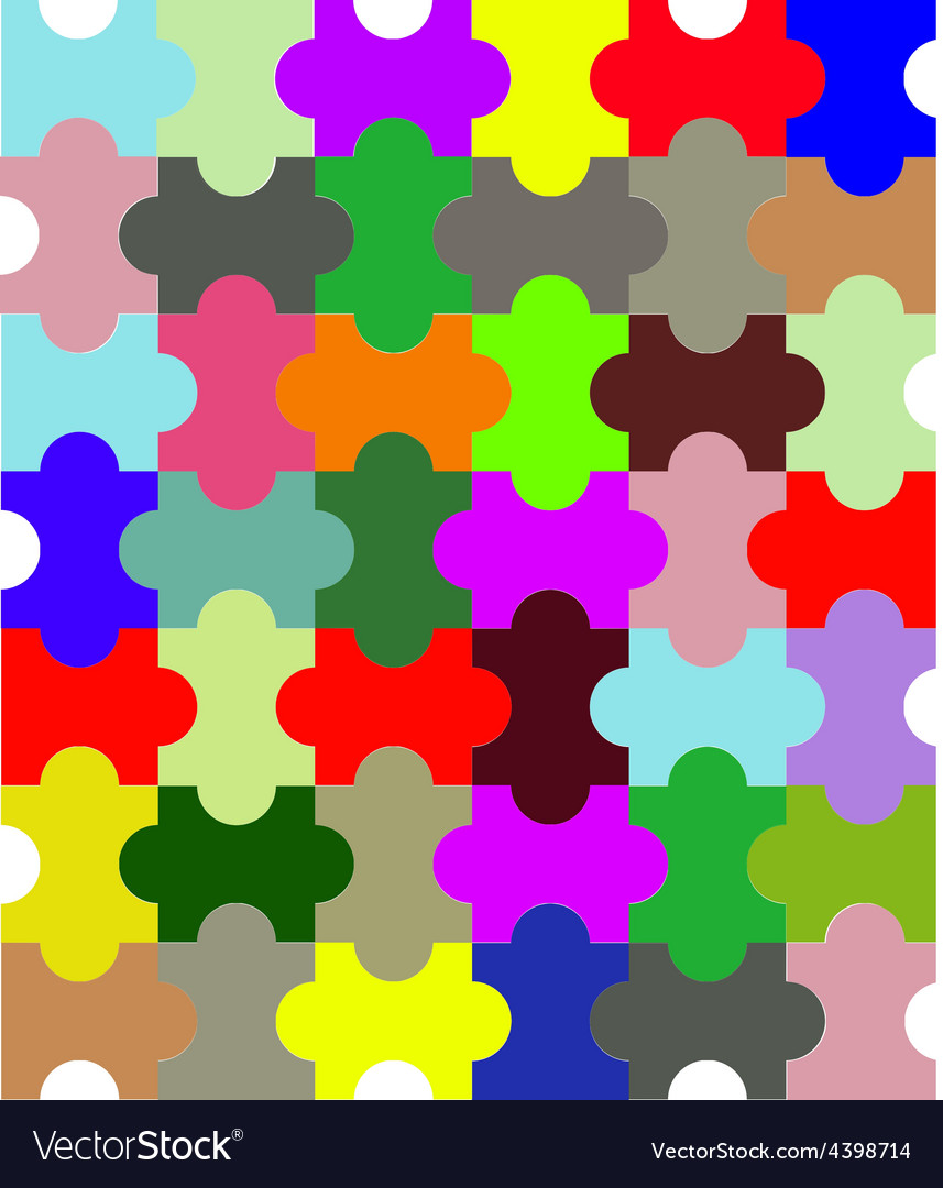 Puzzle background vector | Price: 3 Credit (USD $3)
