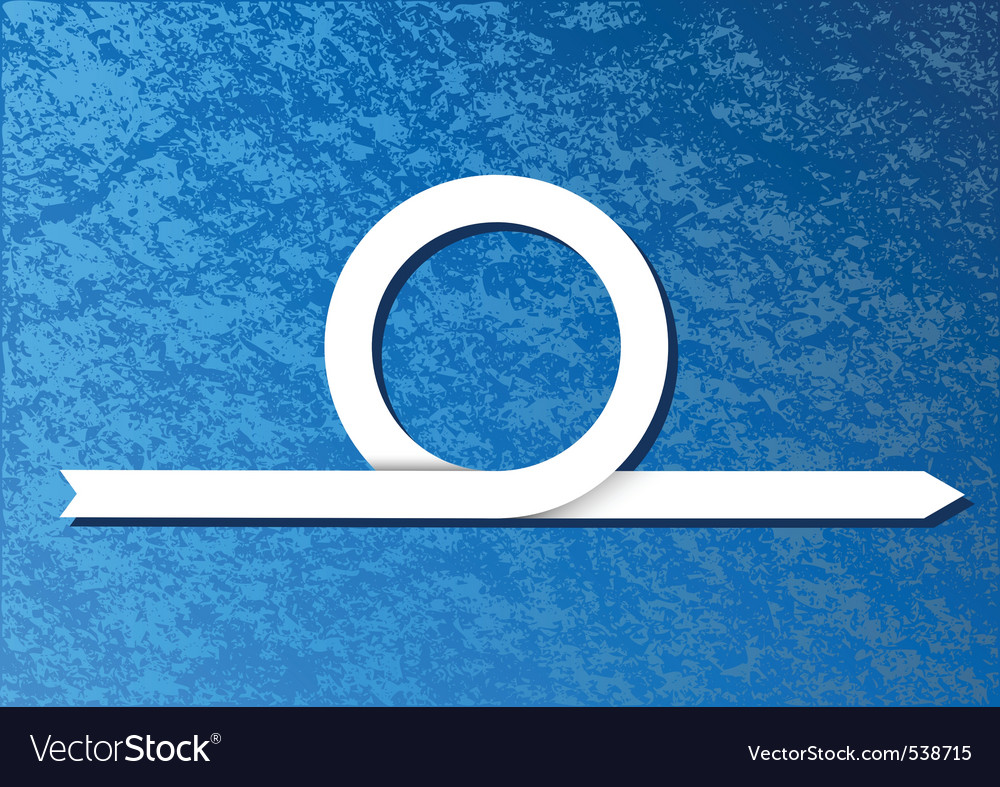 Blue background with white arrow vector | Price: 1 Credit (USD $1)